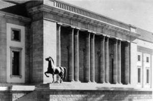 Berlin, Neue Reichskanzlei, Gartenfront