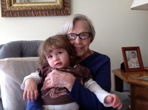 McKenna and her Great-Grandma.