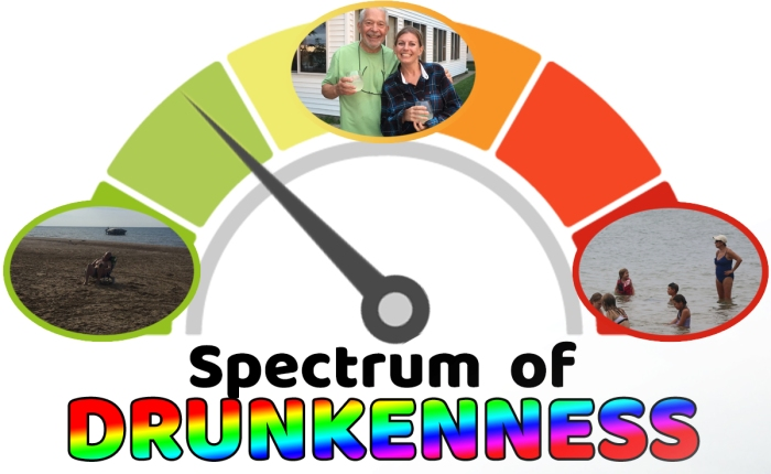 spectrum drunkenness pretty drunk